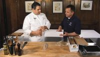 Chef Peter Sclafani of Ruffino's shares his secret on how to properly freeze fish.