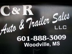 C&R Auto & Trailer Sales - used trucks and cars, new and used trailers in MS