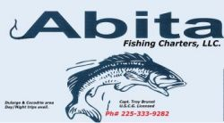 Abita Fishing Charters - Troy Brunet, coastal & inland fishing trips in Louisiana