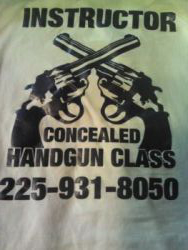 Concealed Handgun Class - concealed hand gun in Louisiana