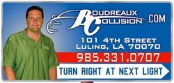 Boudreaux's Collision Center - auto, body shop, collision, repair. paint, car in Louisiana