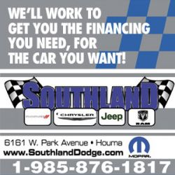 Southland Dodge - Dodge, Chrysler, Jeep, Ram SRT, Houma in Louisiana
