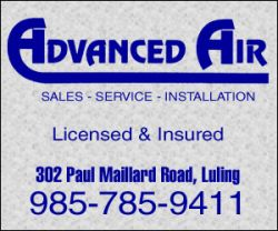 Advanced Air -  air condition, heating, residential, commercial in Louisiana