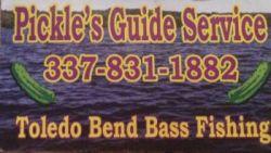 Pickle's guide service - Guided Bass fishing in Toledo Bend Louisiana in LA