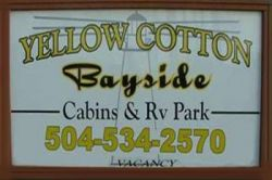Yellow Cotton Bay RV Park and Cabins  - in Buras...  in LA