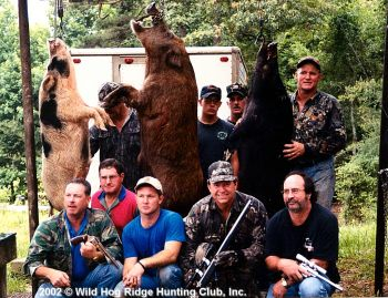 Wild Hog Ridge Hunting Club - We specialize in custom wild boar hunting and guarantee you not only the opportunity to kill a trophy hog, but the time of your life!
