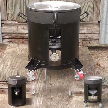 R&R Welding - Looking for a Jambalaya pot ? We have pots, lids, burners, stands and customized welding for cajun jambalaya pots 4 - 28 gallons.