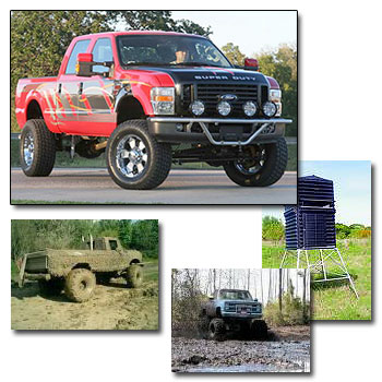 The Mud Hole - We are your tire superstore!  Sales & Installation, mounting & balancing, toolboxes, winches, lift kits, shooting blinds and much more!