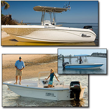 Boat Ramp Marine - We are your boating, outboard, and service headquaters!  Whether you are looking for a Bay Boat, Offshore boat, aluminum fishing boat or just an outboard engine, Boat Ramp Marine has them all.