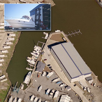 SeaBrook Harbor & SeaBrook Marine - New Orleans ONLY full service marina. 10 minutes from down town.  