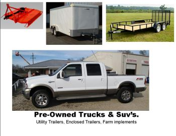 Small Town Auto Sales - We specalize in: Pre-Owned Pickup Trucks, Work Trucks ,SUV's, Trailers, Farm implements, truck accessories.