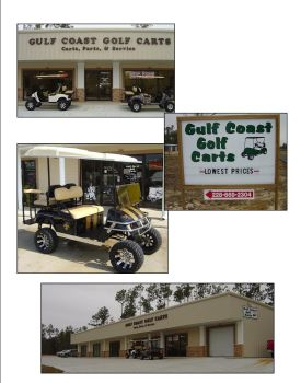 Gulf Coast Golf Carts - !!!12 Month Same As Cash Financing Available!!! 