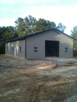 Forrest Metal Works - Metal Buildings, Metal Roofs (including standing seam).