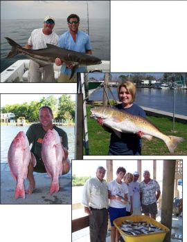 Sea Creature Fishing Charters - South Louisiana Charter Fishing at its best!