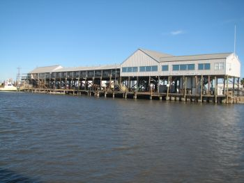 Boudreaux's Marina - Boudreaux's Marina at the end of Hwy 56 in