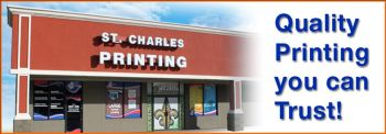 St Charles Printing - CUSTOM PRINTING OF ALL TYPES.