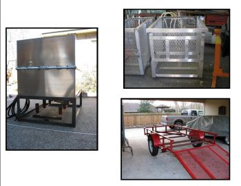 Outlaw Fabrication - Outlaw fabrication is a full service welding shop that specializes in Aluminum, Steel and stainless work.  We also have a mobile welding rig that can come to you!