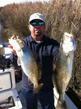 Topline Fishing Charters -  Topline Fishing Charters offers guided redfish and speckled trout trips for all levels of anglers.  At Topline Fishing Charters we go out of the way to make sure your fishing adventure is one you will remember for a lifetime.  It doesn't matter to us if 