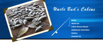 Uncle Bud's Cabins - Uncle Bud's Cabins and RV Park, anchors an 8,000 acre complex of lakes, bayous, swamps and creeks that offer the best of crappie, bream, bass and catfish fishing, as well as outstanding duck, squirrel and deer hunting on 60,000 acres of the Dewey W. Wil