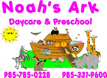Noah's Ark Daycare and Preschool - Noah's Ark Daycare and Preschool's two locations in Luling are the choice's for local childcare. We are Class A certified, so parents can confidently leave their children with the loving and caring staff. 