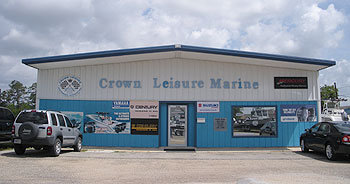 Crown Leisure Marine - We are a full service boat dealer on the MS Gulf Coast.  We carry Key West, Blazer Bay and Blackjack Boats.  We are a Yamaha, Mercury & Suzuki Dealer and sales, parts & service is what we do.
