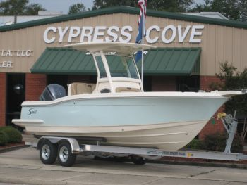 Cypress Cove Boating Center - We offer unmatched prices and service on lines such as Scout, Sailfish, Maycraft boats, blazer bay boats.