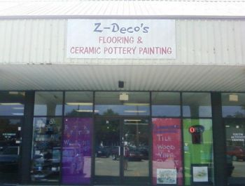 Z-Deco's Flooring and Pottery - Offering commercial and residential flooring to the public at wholesale prices. I also maintain a ceramic art studio where you can create your own personalized keepsake.