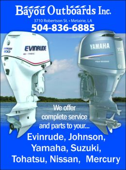 Bayou Outboards - We offer complete Service & Parts to your Outboard Engine Needs.