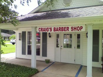 Craig's Barber Shop - Craig's Barber Shop has been locally owned and operated for over 25 years. We do men, women, and children's haircuts. Come in and enjoy that unique barber shop experience! Walk in and relax a while with Craig, Cheryl, and Angel!