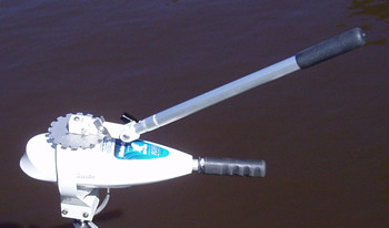 Yanko - Thoroughly tested in the marshes of Louisiana by professional fishermen that demand quality, no–nonsense products, Top Notch Troll is more than just another trolling motor extension handle. It gives fishermen the luxury of 360 degree turning ability with