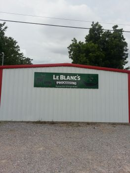 LeBlanc's Processing - We buy and process Alligators during the Month of September.  October 1st thru March 1st we process all wild game into all specialty sausages including burritos and tamales. From March thru end of Crawfish season we buy, wholesale, and retail crawfish and