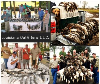 Capt. Scott Ritchey's Louisiana Outfitters - Offering the best Specklebelly goose and duck hunts available in southwest Louisiana. Fantastic Fishing for trout and reds on Calcasieu Lake. Lodging and meals available.