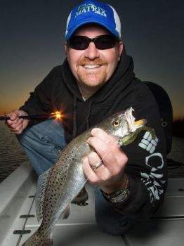 Millertime Fishing Charters - Specializes in catching speckled trout and redfish.