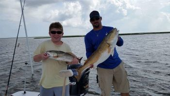Reel Southern Fishing Charters - Hopedale, Shell Beach, Delacroix in Louisiana, and the Biloxi marsh area in Mississippi. I also take trips out of Lake Pontchartrain. Speckled Trout, Redfish, Flounder, and more.