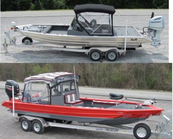 Hanko's Custom Built Aluminum Boats - Our detail, facilities, experience, and craftsmanship produce a finished product that is second to none.