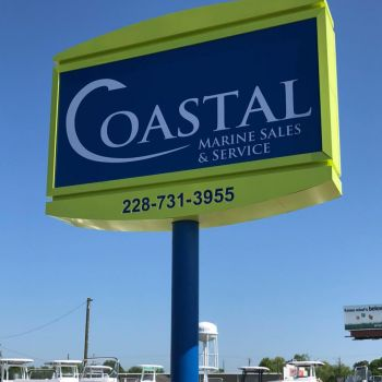 Coastal Marine Sales - Boat dealership and full service shop.