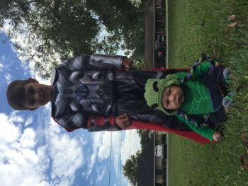 AshlynLamonte Beard: Our little super heroes