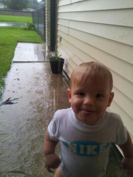 Kason during hurricane Isaac&nbsp;-&nbsp;Jenny &nbsp;Nicholas 