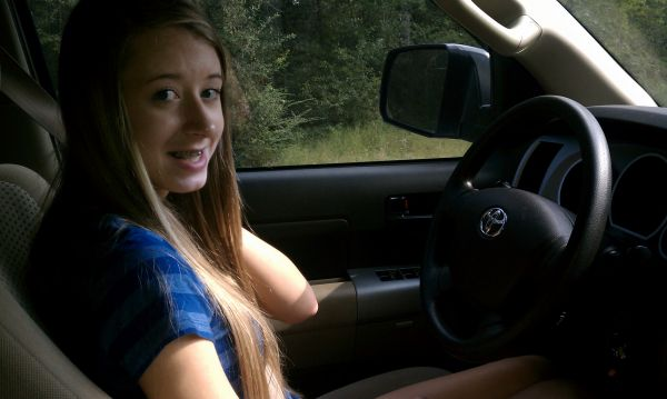 Teaching daughter to drive! - C. Beck