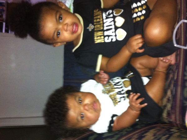 Saints Fans! - Courtney Cortez