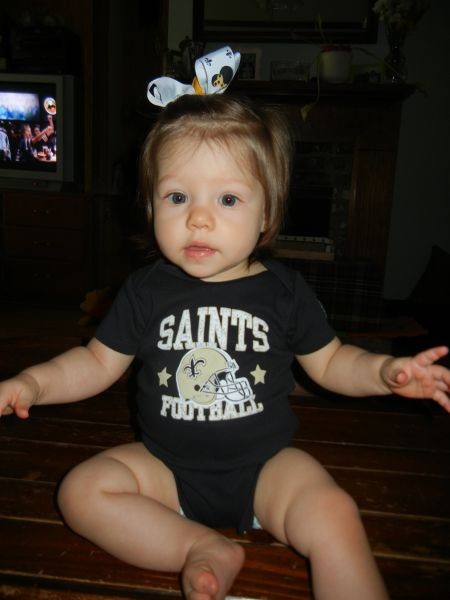 WHO DAT - GO SAINTS - Marcia Hokanson