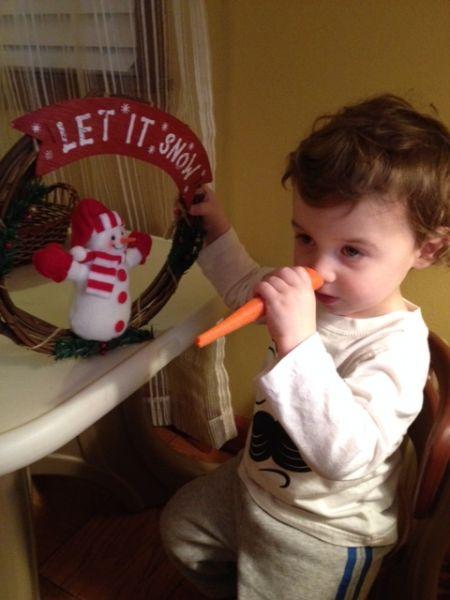 Carrots aren't just for snowmen!-CarlaMurphy