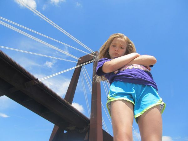 Leaning on the Hale Boggs Bridge -BryanWhitney