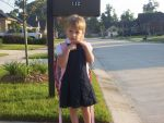 Anna Keller Beard: First Day of school