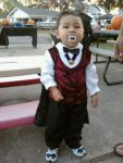 Donna Palahang Beard: Count?...I can't count yet!...Gimme some candy....peeeease!