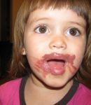 pattibergeron Beard: playing with moms lipstick