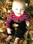 Kim Miller Beard: Playing in the Leaves