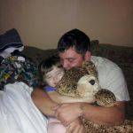 brandi perrillioux Beard: KHLOE AND HER TWO FAVORITE TEDDY BEARS