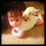 KellyGomez Beard: Babies Best Friend.