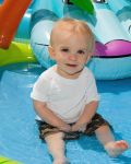 MikePeters Beard: My grandson, Connor James Vila, goes swimming on Memorial Day 2013